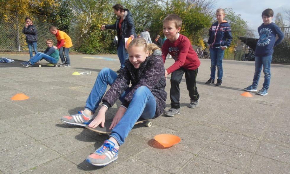 Nieuw schoolplein voor de Prins Willem Alexanderschool in Laren!